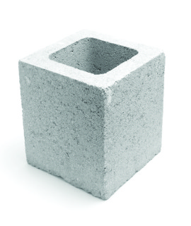 meio bloco concreto
